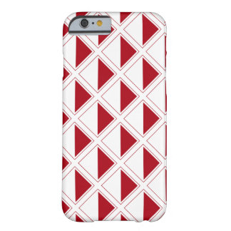 Modern Geometric Design Barely There iPhone 6 Case