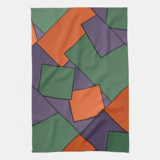 Modern Geometric Design Kitchen Towel