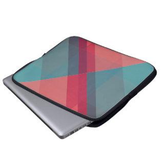 Modern Geometric laptop or notebook sleeve design