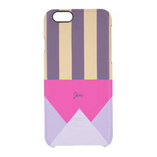 Modern Geometric Patterned Custom iPhone 6/6s Case