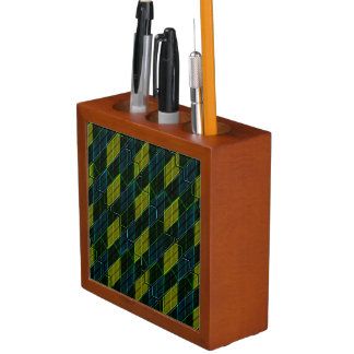 Modern Geometric Seamless Pattern Desk Organizer