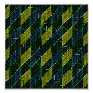 Modern Geometric Seamless Pattern Photo Print