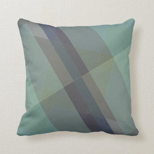 Modern Geometric throw pillow, accent block design Throw Pillow