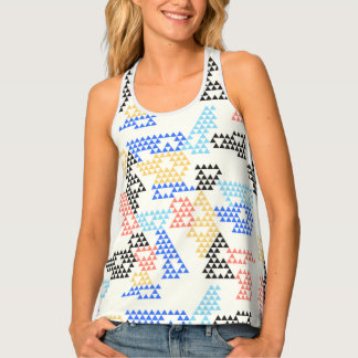 Modern Geometric Triangle - Women's Tank