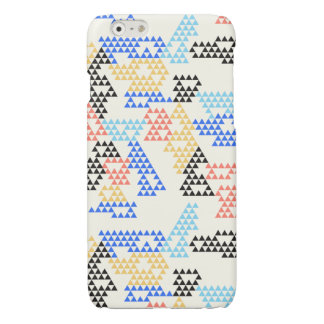Modern Geometric Triangles - Glossy iPhone 6/6s