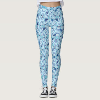 Modern Geometrical Pattern Leggings