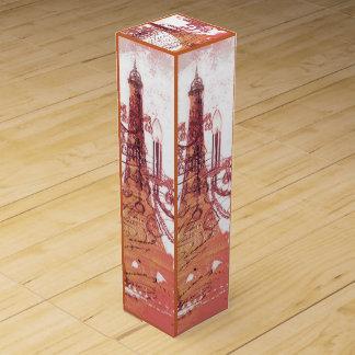modern girly vintage chandelier paris eiffel tower wine bottle boxes