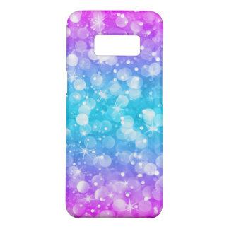 Modern Glam Bokeh Glitter Ombre Pink & Blue Case-Mate Samsung Galaxy S8 Case