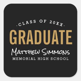 Modern Graduate Personalized Graduation Stickers