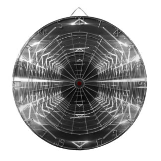 Modern Graphic Abstract Cool Glowing Vortex, Dartboards