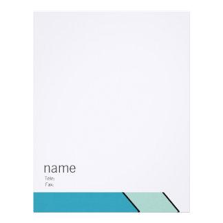 Modern graphic business sets letterhead design
