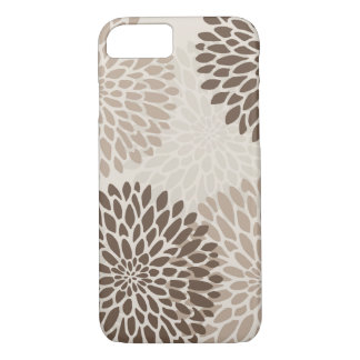 Modern Graphic Chrysanthemums iPhone 8/7 Case
