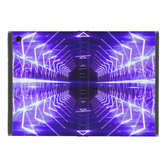 Modern Graphic Glowing Vortex, Violet - Cases For iPad Mini