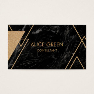 Modern graphic style business card