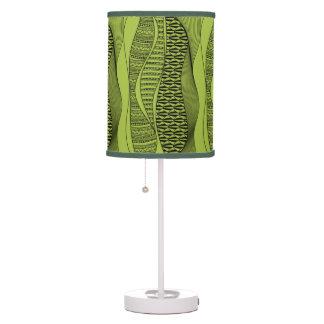 Modern Green Abstract Lamp