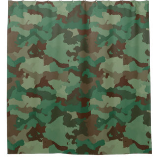 Modern Green Camouflage  Pattern