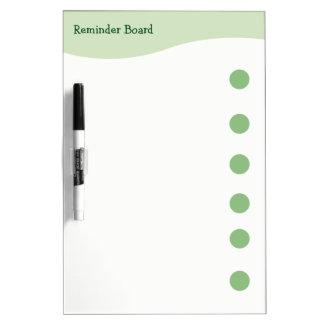 Modern Green Kitchen Mark And Wipe Board