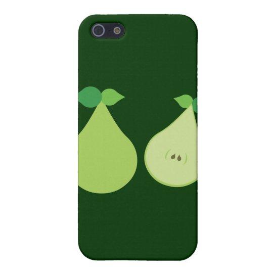 Modern Green Pear iPhone 5 Case