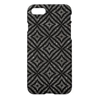 Modern Grey Glitter Girly  iPhone 8/7 Glossy Case