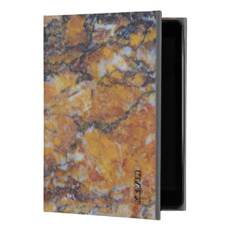 """Modern Grungy Brown Faux Marble Texture iPad Pro 9.7"""" Case"""