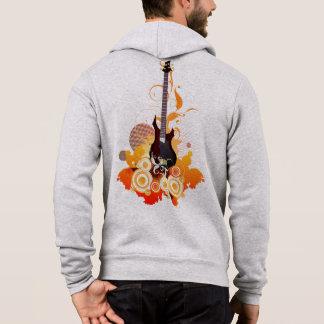 Modern Guitar Zip Hoodie