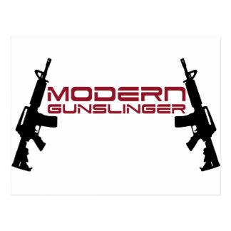 Modern Gunslinger Design by U.S. Custom Ink Postcard