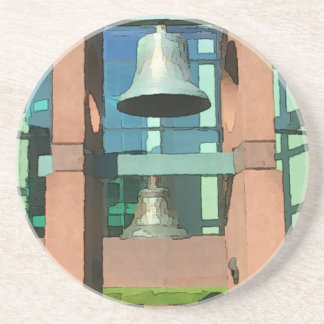 Modern Hanging Artistic Bell Photomanipulation Coaster