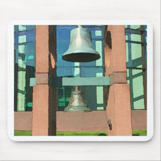 Modern Hanging Artistic Bell Photomanipulation Mouse Pad