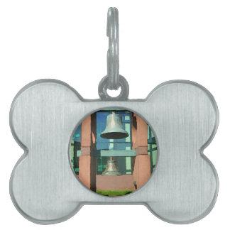 Modern Hanging Artistic Bell Photomanipulation Pet Name Tag