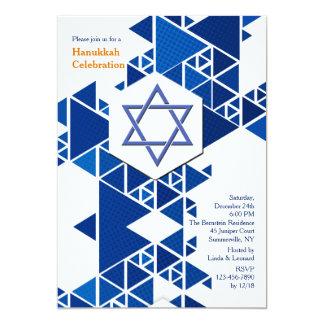 Modern Hanukkah Invitation