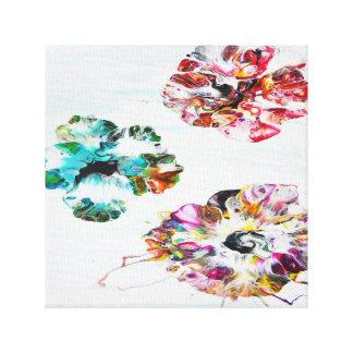 Modern Hibiscus - Canvas