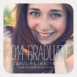 Modern High School Graduation Stickers