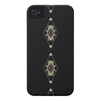 Modern Hip Masculine Pattern iPhone 4 Case-Mate Case