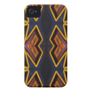 Modern Hip Masculine Pattern iPhone 4 Covers