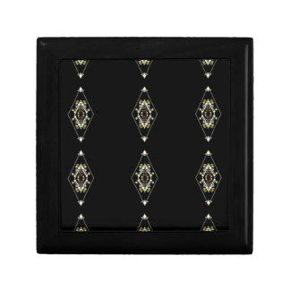 Modern Hip Masculine Pattern Jewelry Boxes