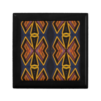 Modern Hip Masculine Pattern Keepsake Boxes