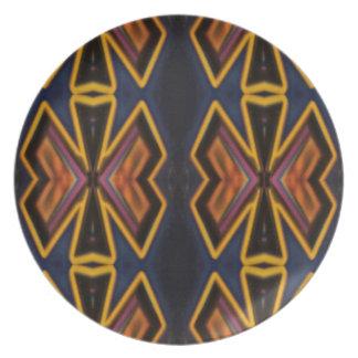 Modern Hip Masculine Pattern Plate