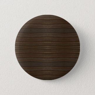 Modern Hip Shades of Brown Textured Pattern 2 Inch Round Button