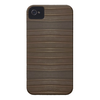 Modern Hip Shades of Brown Textured Pattern Case-Mate iPhone 4 Case