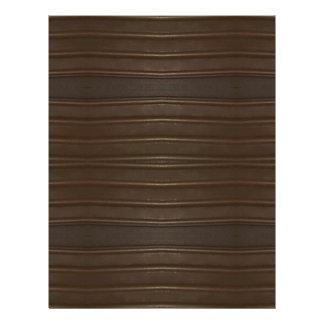 Modern Hip Shades of Brown Textured Pattern Letterhead
