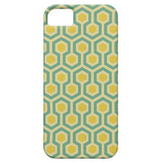 Modern honeycomb geometric tribal pattern print case for the iPhone 5