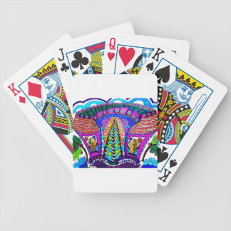 MODERN HOUSES BICYCLE PLAYING CARDS