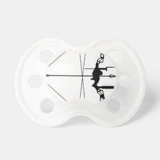 Modern Hunting Bow and Arrow Pacifier