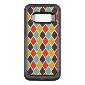 Modern ikat tribal fashion pattern OtterBox commuter samsung galaxy s8 case