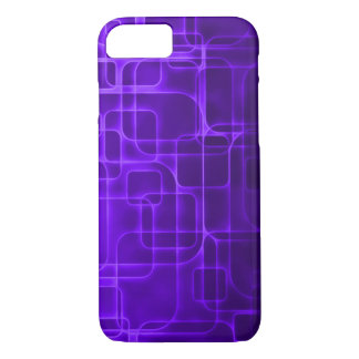 Modern Indigo Laser Art iPhone 7 Case