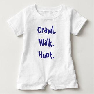 Modern Infant Typography Romper