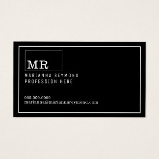 modern introduction contact-card, profession business card