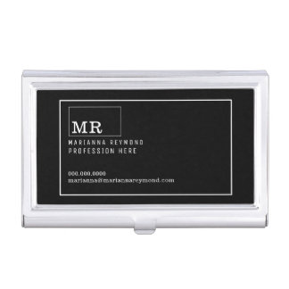 modern introduction contact-card, profession business card holder