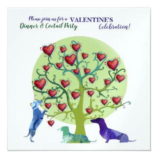 Modern  Invitation Valentine Party Celebration