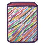 Modern Irises iPad Sleeve
